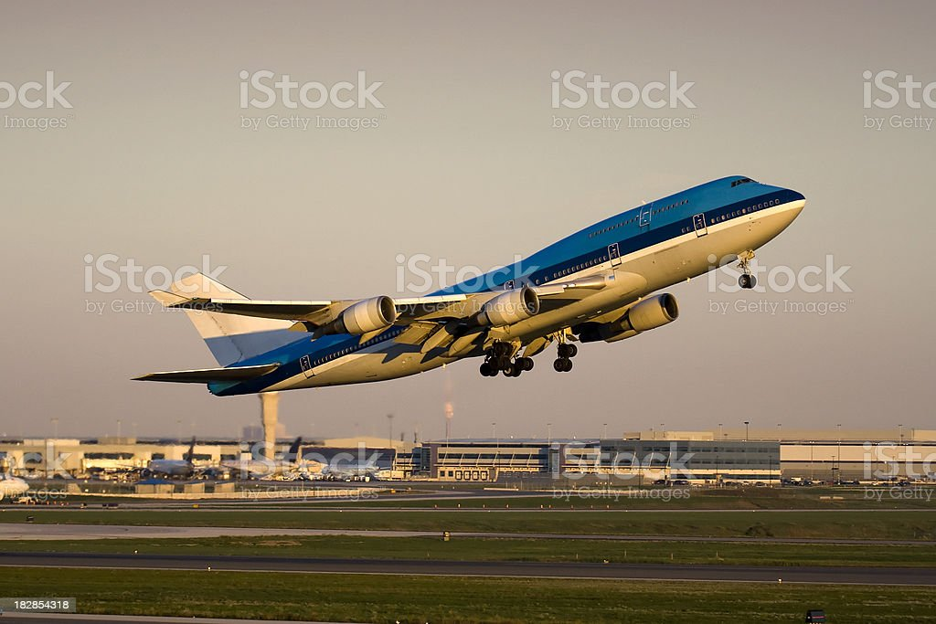 Evening Departure stock photo