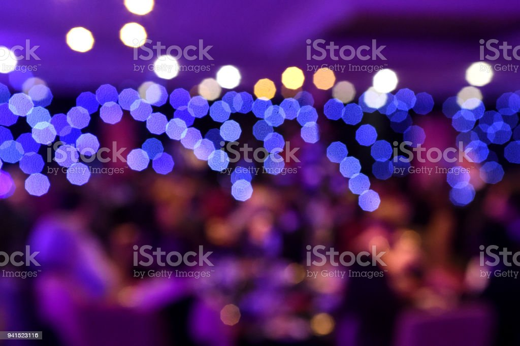 Evening Event stock photo
