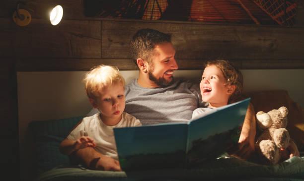Evening family reading father reads children book before going to bed picture id944949862?b=1&k=6&m=944949862&s=612x612&w=0&h=yqykpudcx uuzjrfn lqhizziijiosyjs1u4ch1ppxe=
