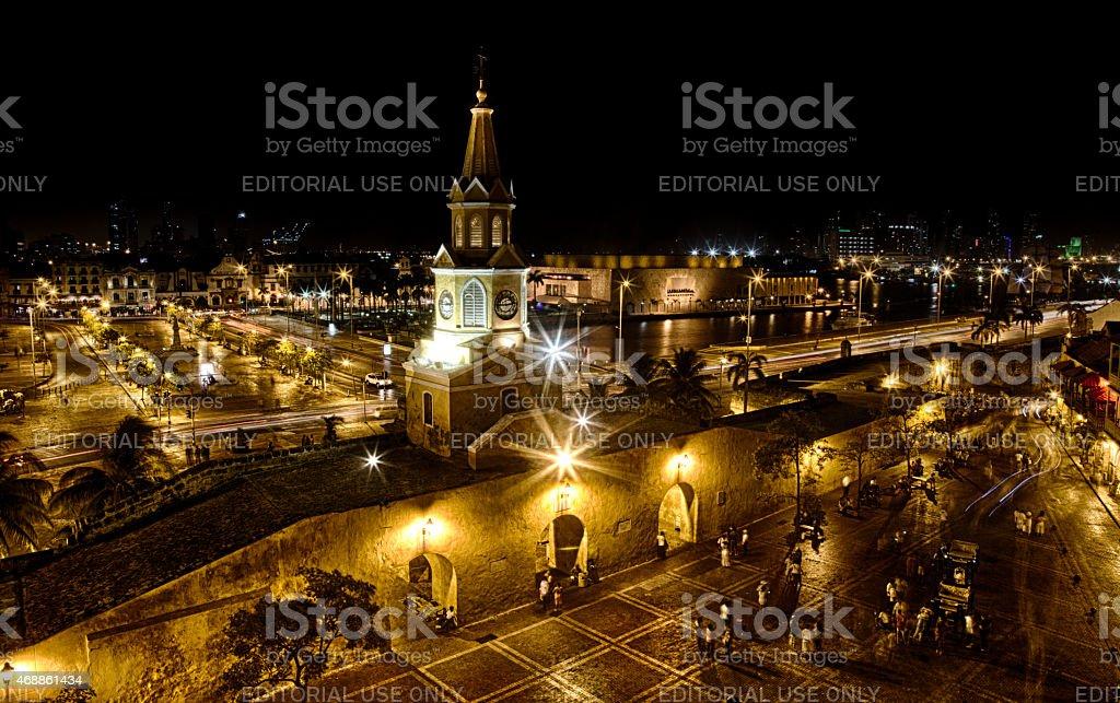 Abend in Cartagena – Foto