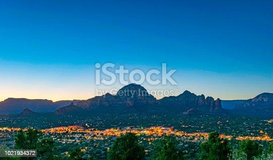 A dramatic evening at over Sedona, Arizona