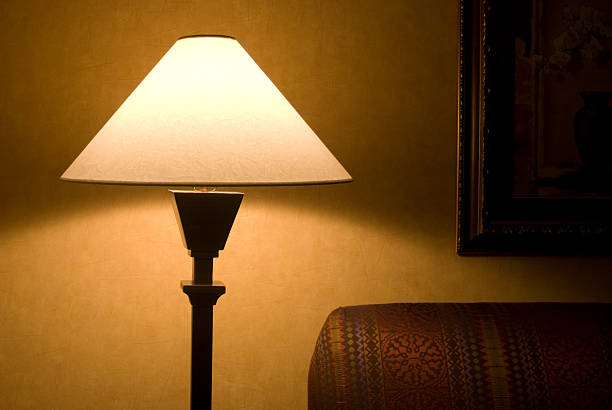 evening lamp - low lighting stock photos and pictures