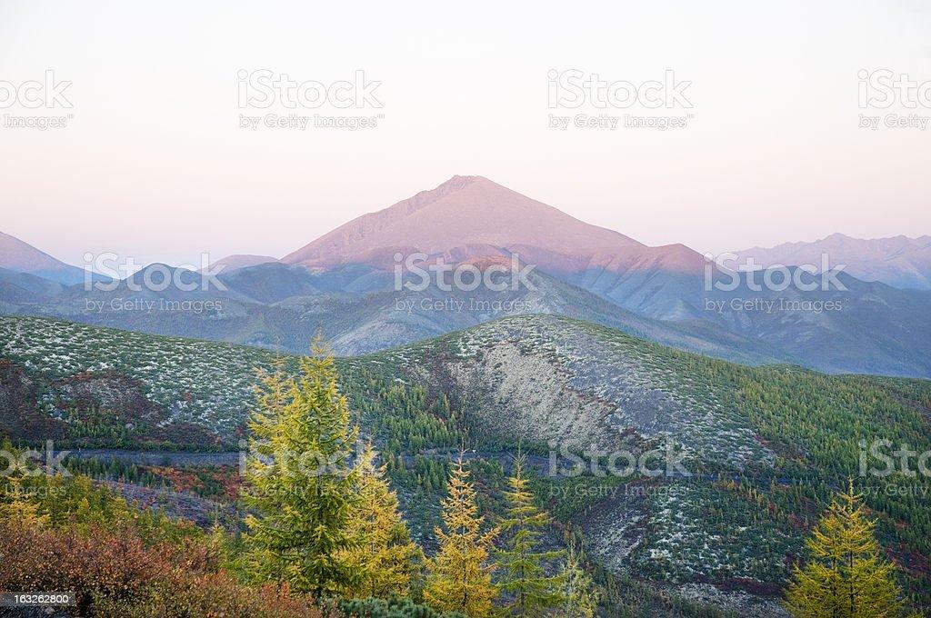 Evening landscape. royalty-free stock photo