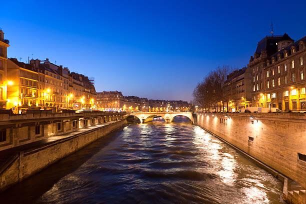 Evening Paris 5 stock photo