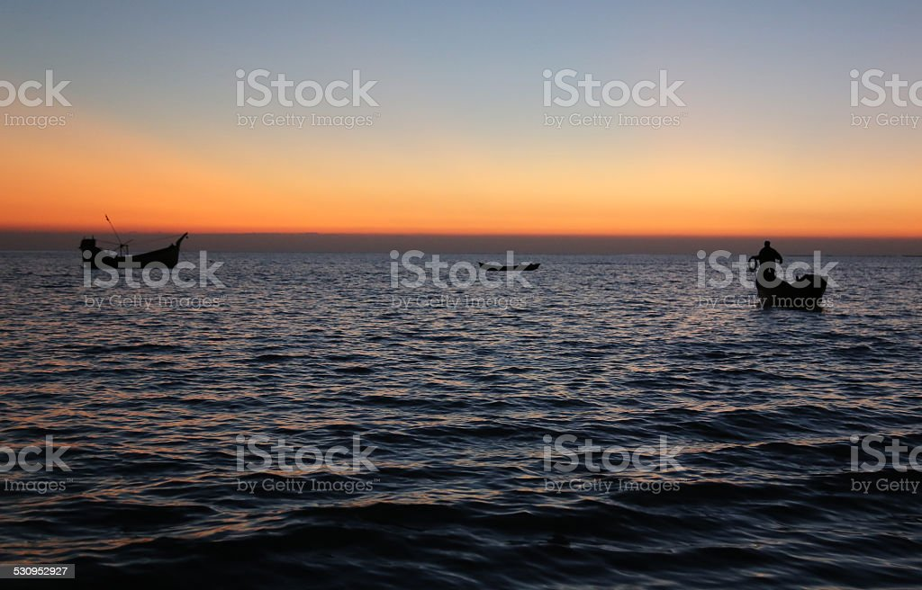 Evening stock photo