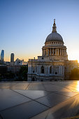 It's potentially impossible to avoid taking shots of St Pauls, especially when it's a stunning evening. \n\nThis was taken on the Nikon Z7 at 35mm