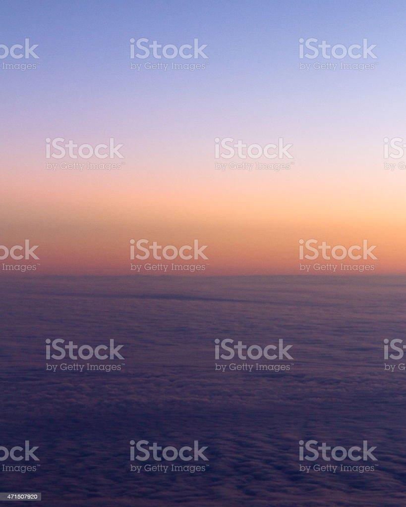 Evening Sky 2 stock photo