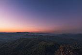 Evening sky Twilight sunset Landscap deep