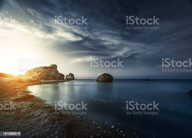 Photo of Evening sunset on sea