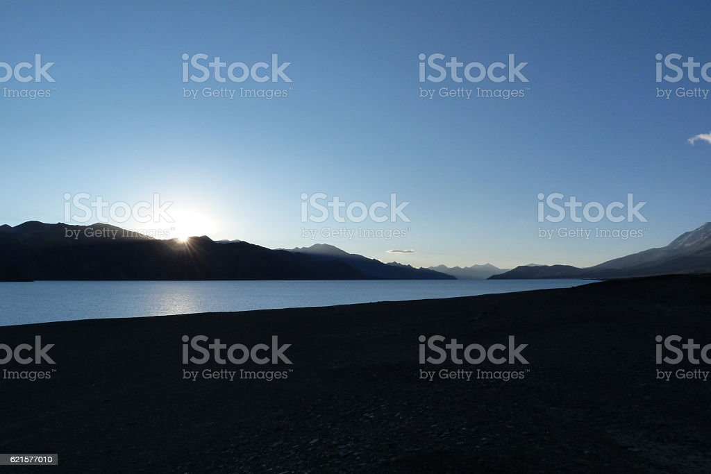 Evening time at Leh valley photo libre de droits