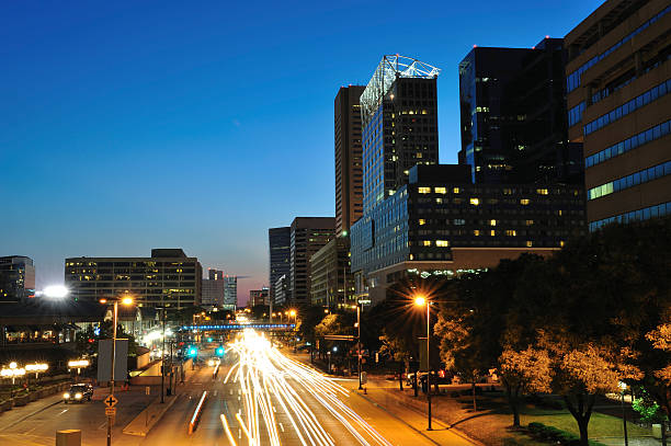 Evening Traffic in Baltimore stock photo