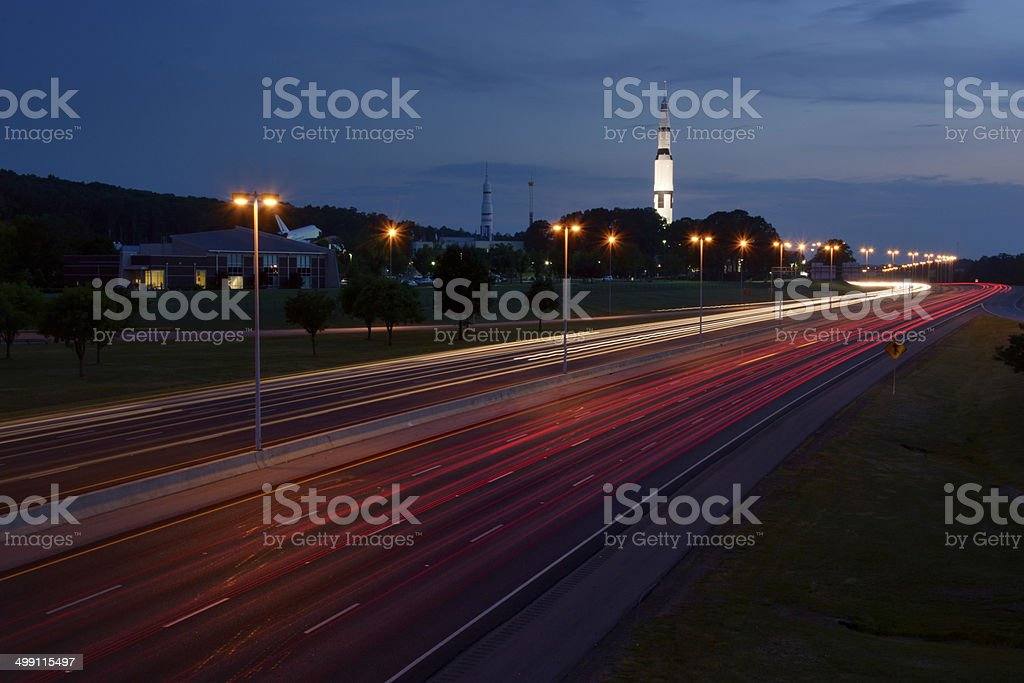 Evening Travel stock photo