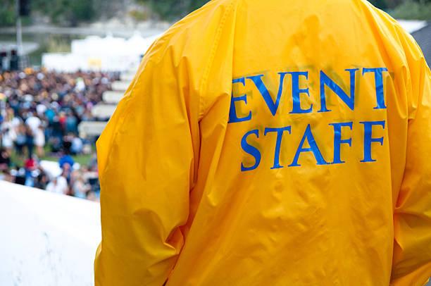 Event Staff stock photo
