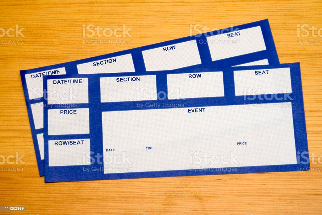 Event Tickets royalty-free stock photo