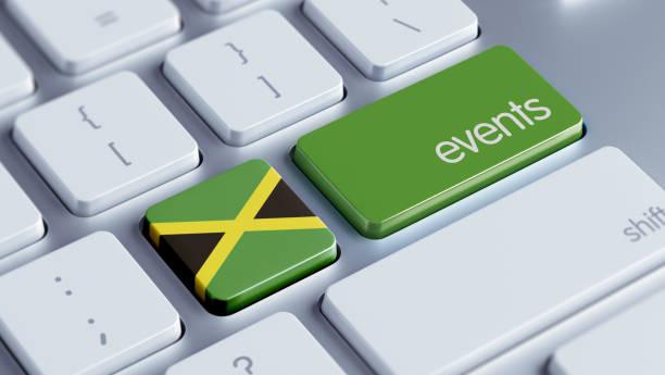 veranstaltungen-konzept - jamaikanische party stock-fotos und bilder