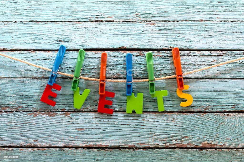 events stock photo