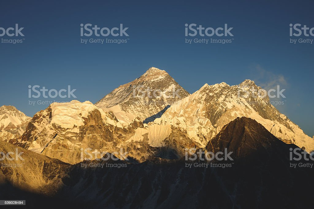Everest Afternoon stock photo