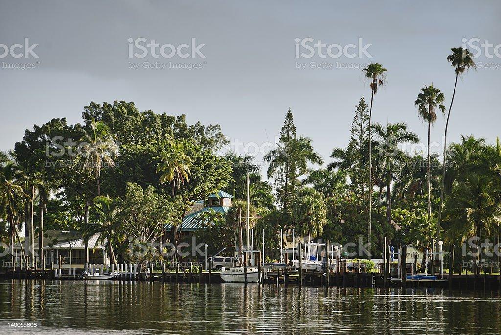 Everglades City Florida royalty-free stock photo