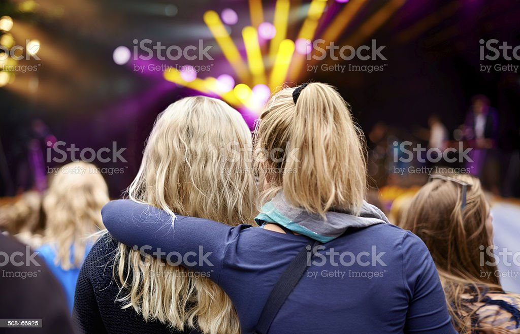 Every beat brings them closer together stock photo