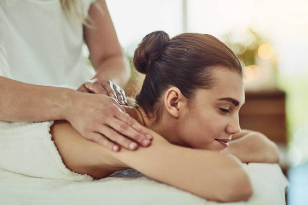 Every body deserves a good massage stock photo