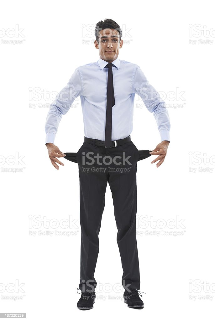 Every business goes through tough times stock photo