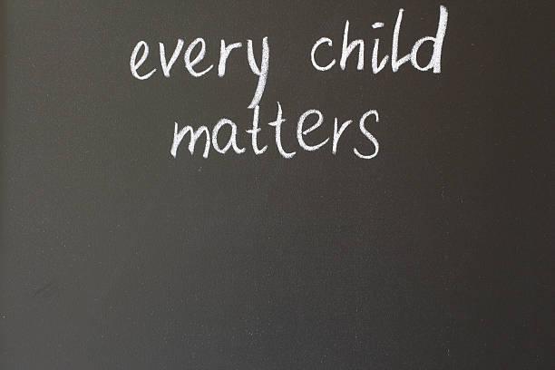 every child matters stock photo
