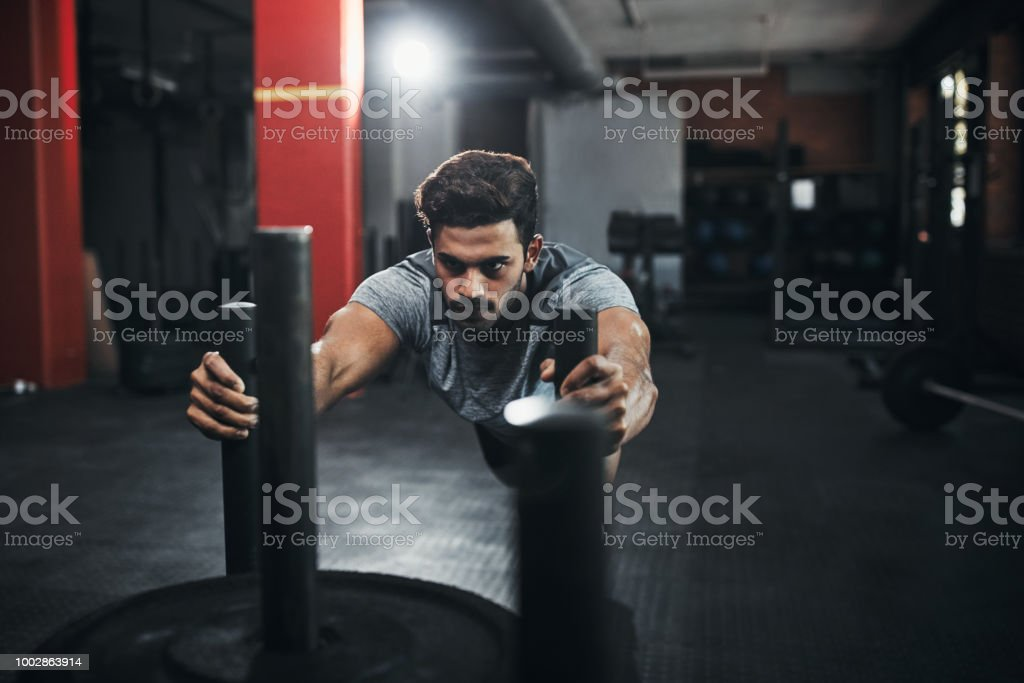 Every day is training day stock photo