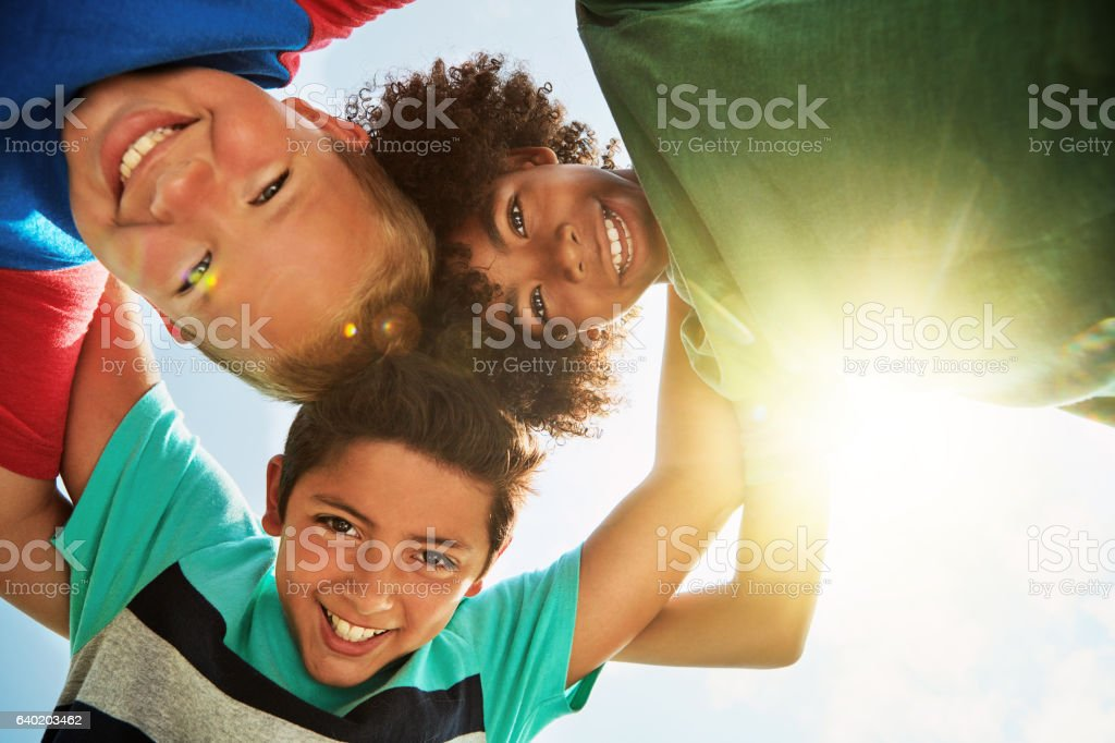Every dude needs best bros like them stock photo
