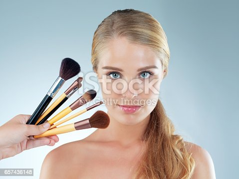 istock Every kind of brush for every kind of makeup 657436148
