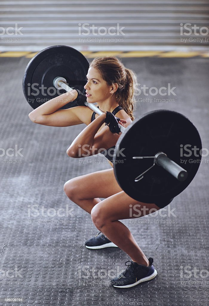 Every lift is worth it stock photo