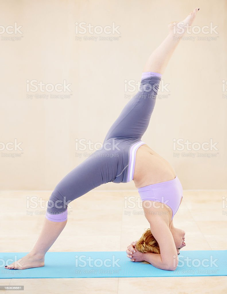 Every muscle working perfectly together stock photo