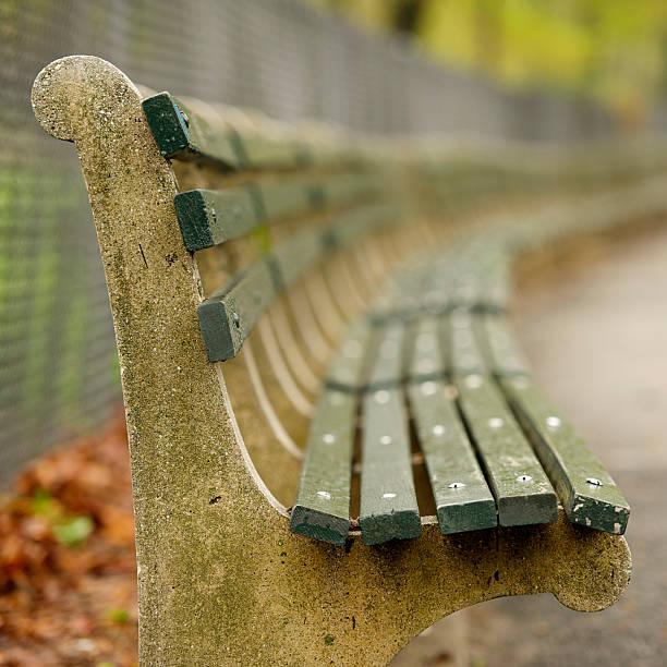 Jeder Park Bench hat eine Geschichte – Foto