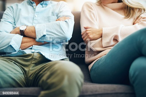 istock Every relationship has it's ups and downs 945093444