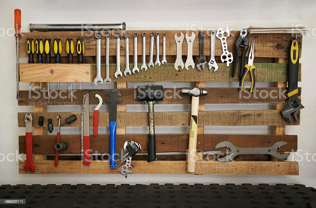 Every repairman's dream stock photo