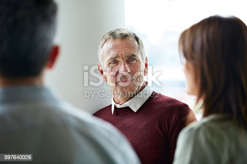 istock Every staff member's opinion is important 597640026