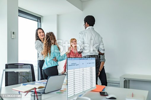 istock Every team member contributes equally 1128003198