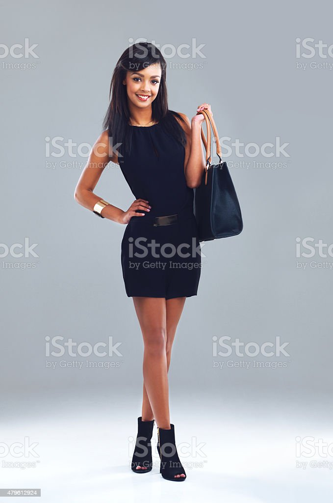 Every Woman Needs A Little Black Dress Stock Photo More Pictures