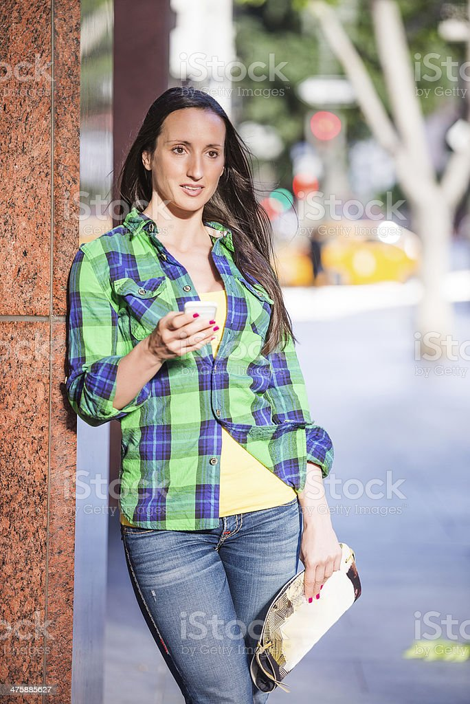 Everyday life in the city royalty-free stock photo