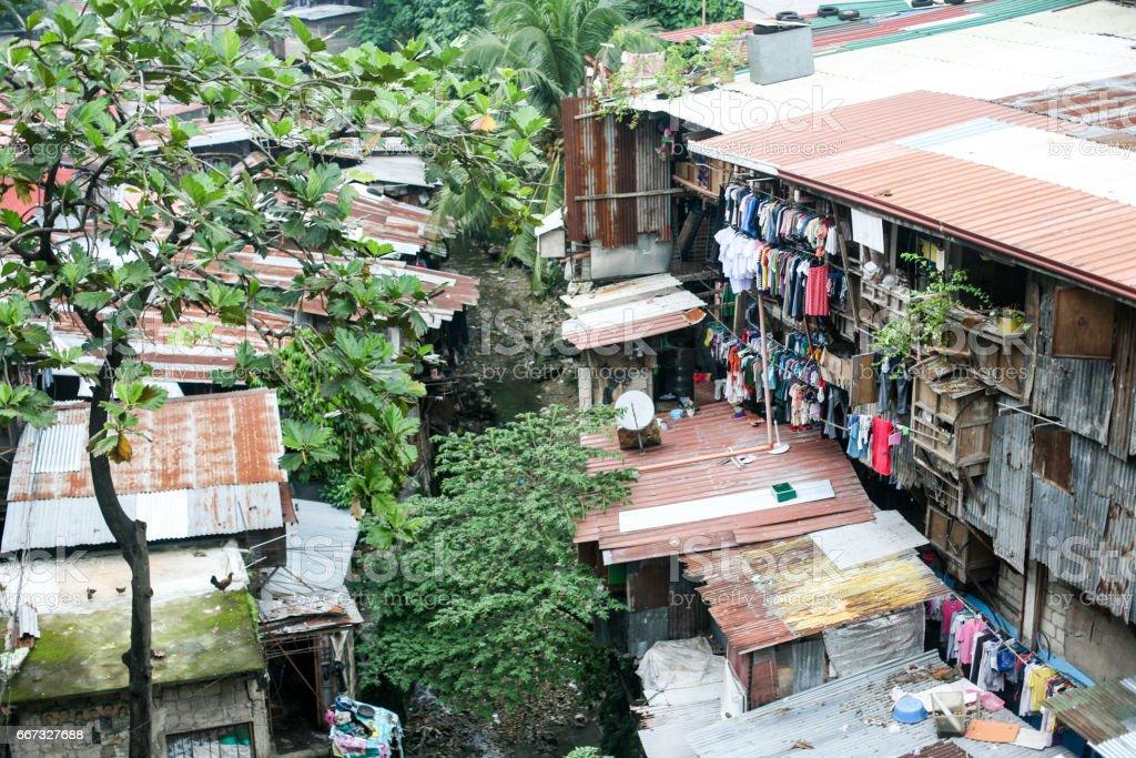 Everyday life of filipinos in Cebu city Philippines stock photo