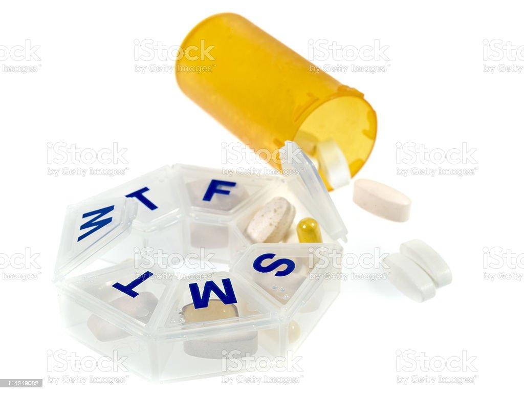 Everyday Pills royalty-free stock photo