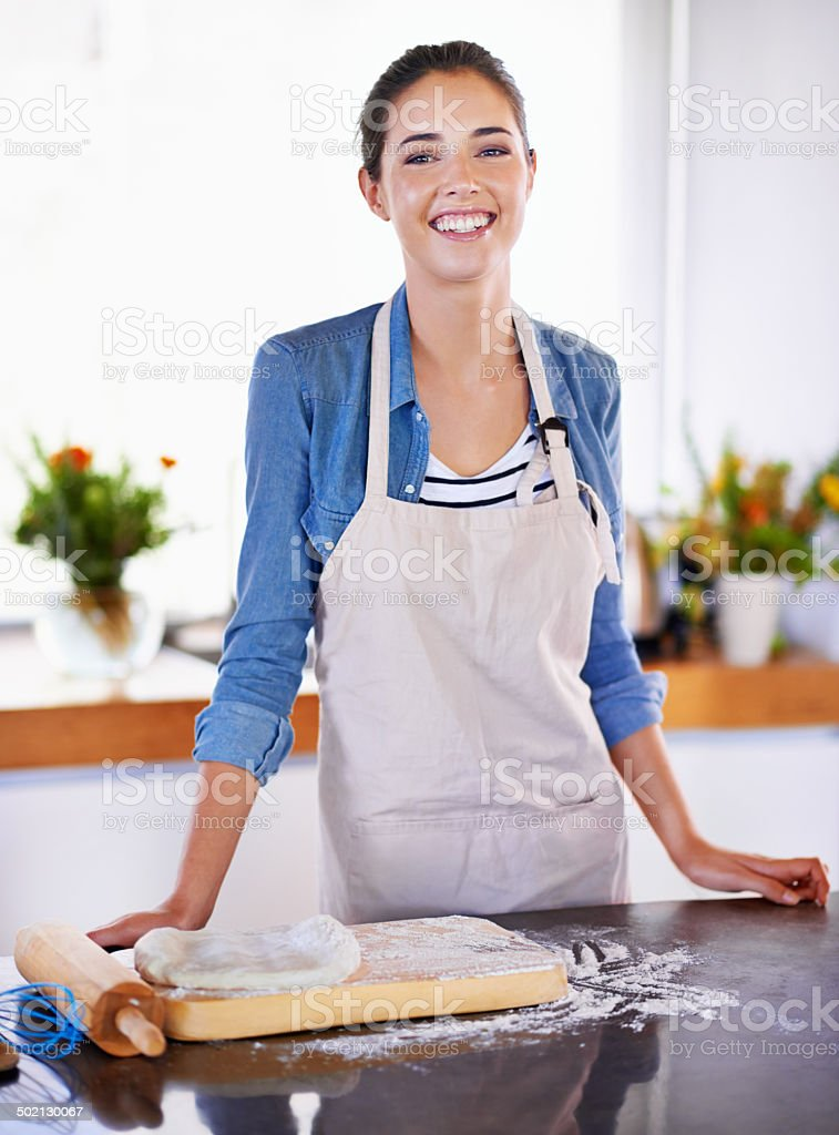 Everyday should be a baking day stock photo