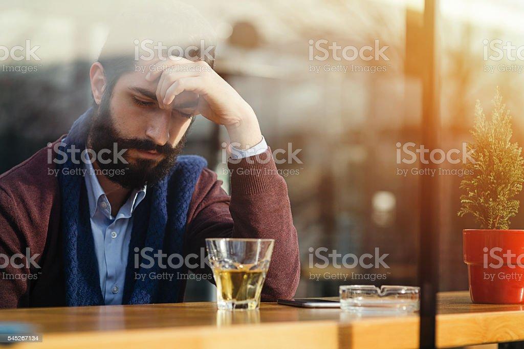 Everyday stress stock photo