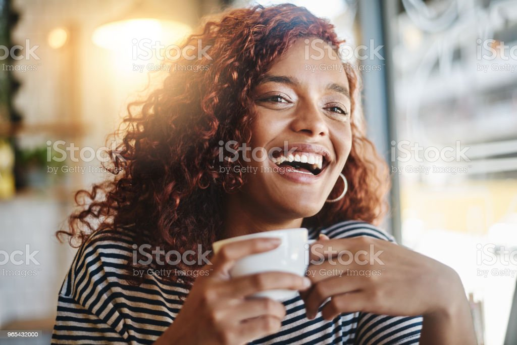 모두 뭔가 믿고 있다. 난 다른 커피를 가질 거 야! - 로열티 프리 20-29세 스톡 사진