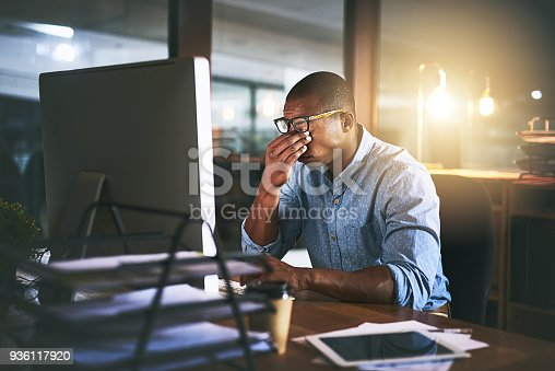 istock Everyone has their limit 936117920