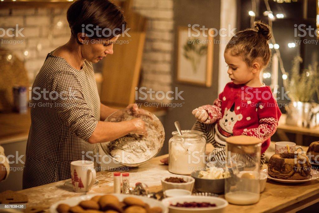 Jeder liebt Weihnachtsbäckerei – Foto