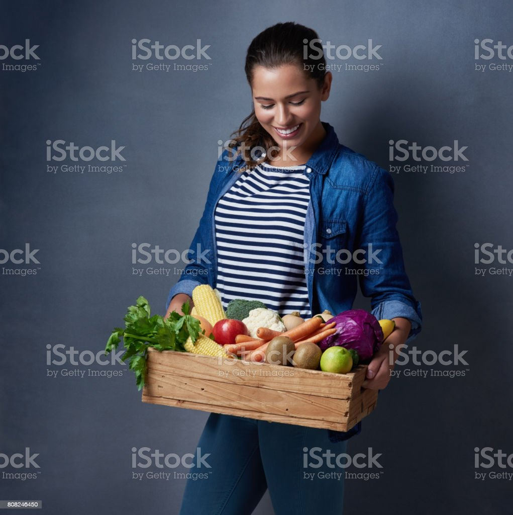 Everyone says she is so down to earth stock photo