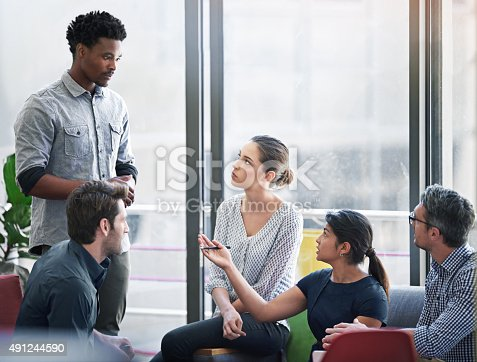 491244494 istock photo Everyone's input makes a difference 491244590