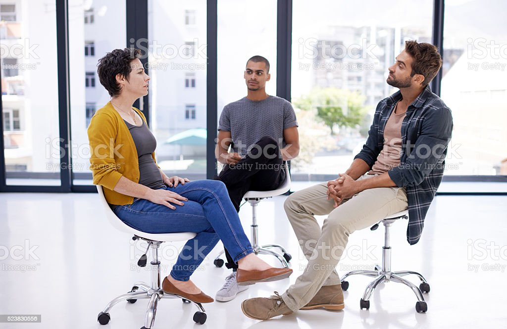 Everyone's opinion is valued and respected stock photo