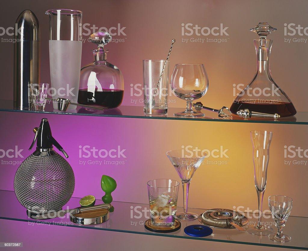 Alles, was Sie für cocktails. Lizenzfreies stock-foto