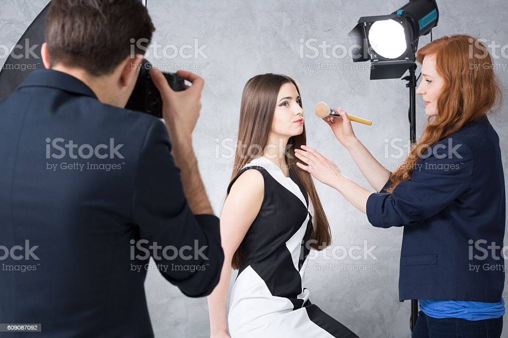 Everything has to be perfect stock photo